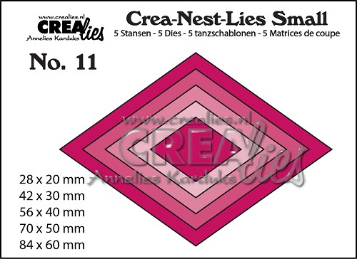Dies Crealies Crea-Nest-Lies Small 11