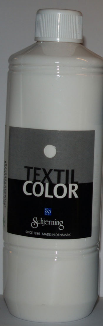 Textil Color hvid 500ml