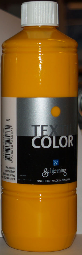 Textil Color gul  500ml