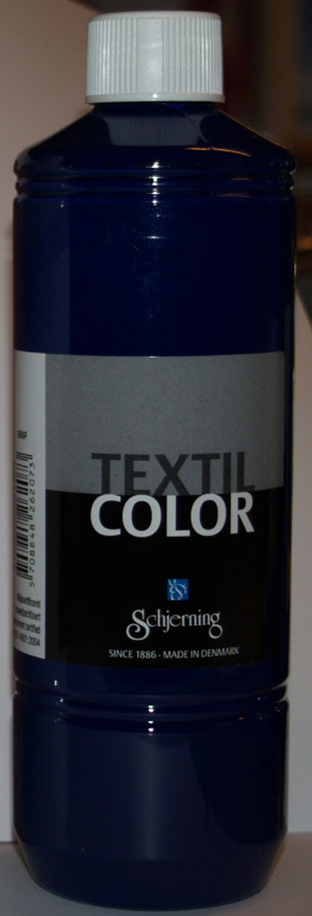 Textil Color brill. blå 500ml
