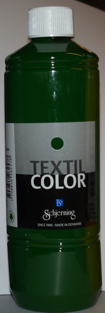 Textil Color græsgrøn 500ml