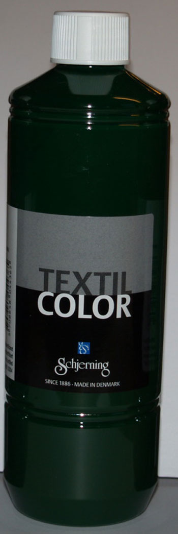 Textil Color brill. grøn 500ml
