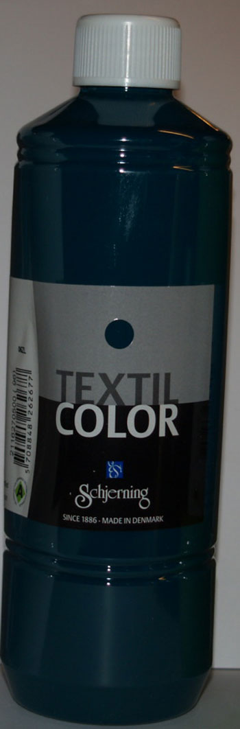 Textil color grøn 500ml