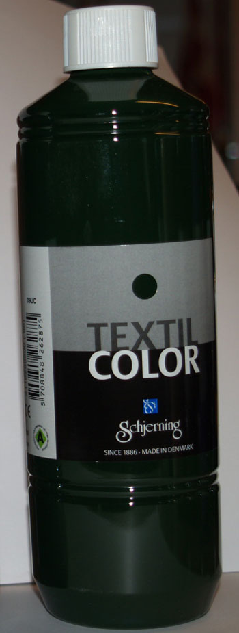 Textil Color olivengrøn 500ml