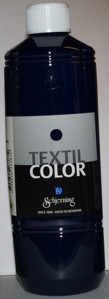 Textil Color marineblå 500ml