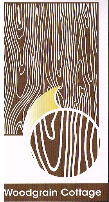 Embossing folder A4 Woodgrain Cottage