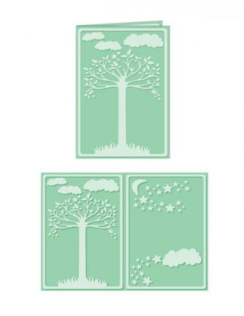 Embossing folder A4 Natural Sp