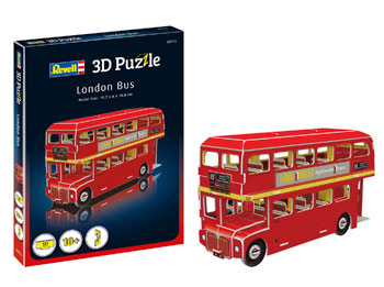 3D puzzle London bus 19,7x6x10,8cm