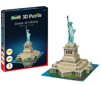 3D puzzle Statue of Liberty 16x14x19cm