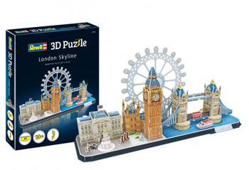 3D puzzle London Skyline 53,5x16,5x26cm