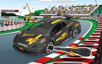 Junior Kit racerbil skala 1/20