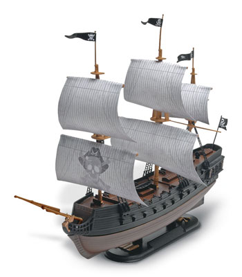 Black Diamond Pirate Ship 1/350