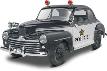 '48 Ford Police Coupe 2 'n 1 1/25