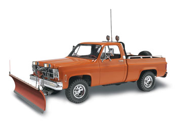 GMC Pickup w/ Snow Plow 1/24