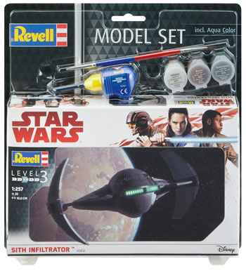 Model Set Sith Infiltrator 1/257