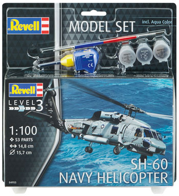 Model Set SH-60 Navy Helicopter 1/100