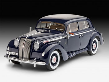 Model Set Luxury Class Car Admiral Saloo