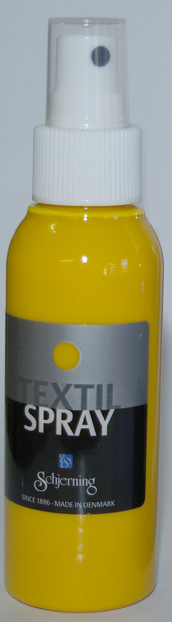 Textil Spray gul 100 ml