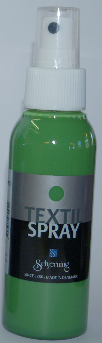 Textil Spray grøn 100 ml