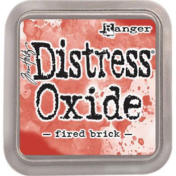 Stempel pude Distress Oxide Fired Brick