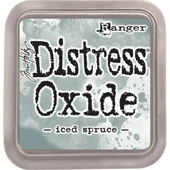 Stempel pude Distress Oxide Iced Spruce