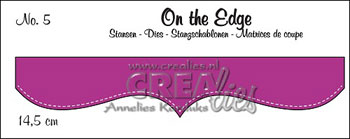 Dies Crealies On the Edge 5 stiblet