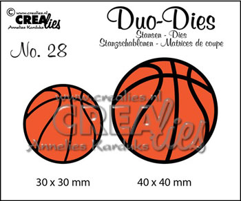 Dies Crealies Duo Dies 28 basketbolde