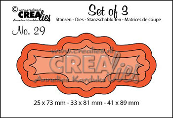 Dies Crealies Set of 3 29
