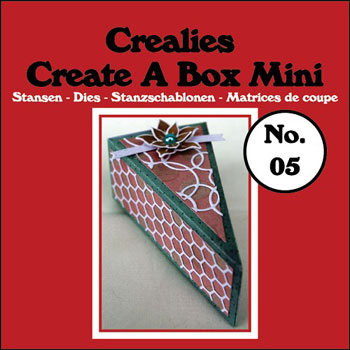 Dies Crealies  Create A Box Mini CCABM05