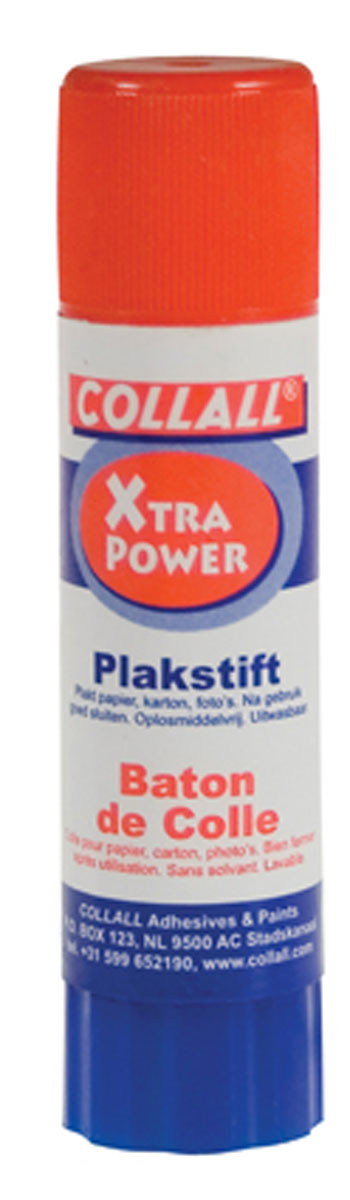 Limstift 10g hvid extra power Collall